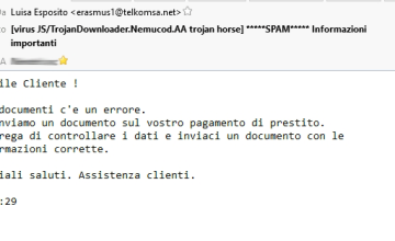 email infetta con cryptolocker